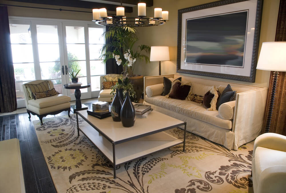 light brown sofa living room ideas colors with grey furniture 25 cozy tips and for small big ...