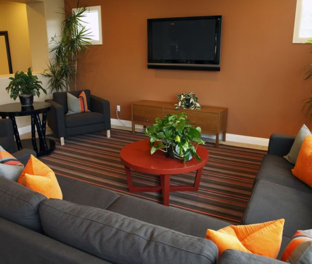 Casual Living Room Or Family Room Its Very Simply Designed But The