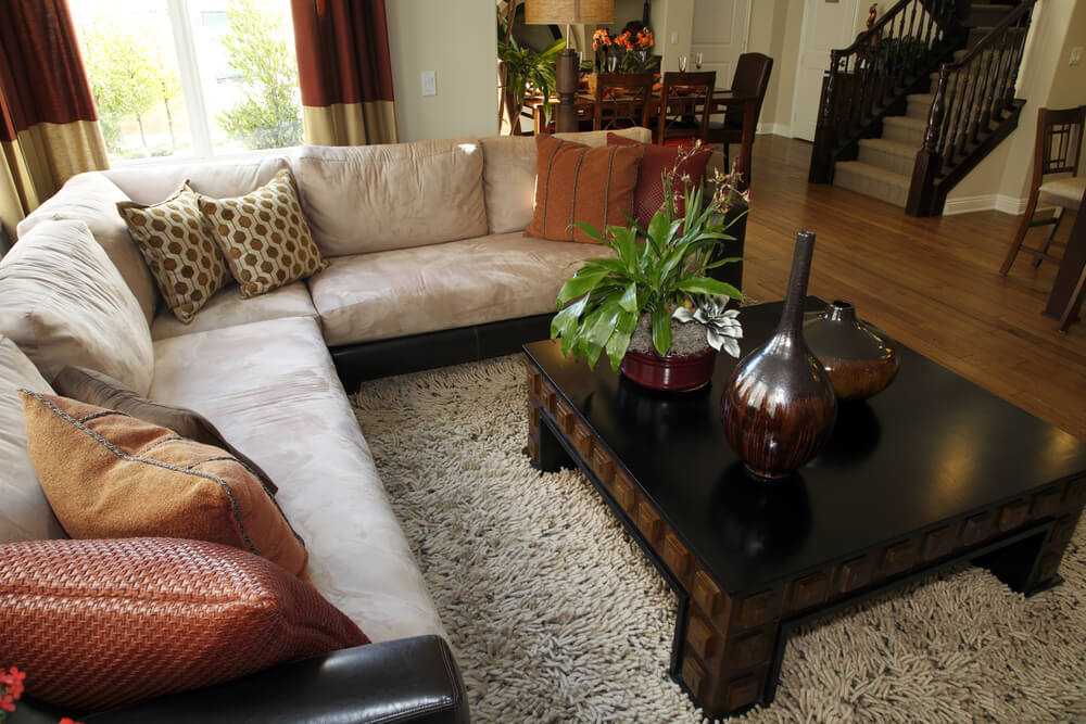 l shaped couch small living room ideas country colors 25 cozy tips and for big rooms great example of a very space well designed furnished to create an