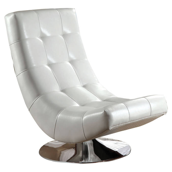 skyline furniture accent chairs kitchen chair cushions at target 37 white modern for the living room