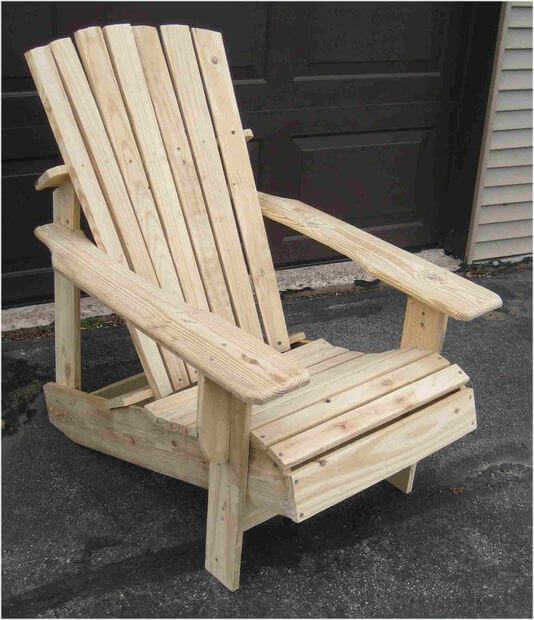 how to build an adirondack chair folding wood beach plans a wooden pallet step by tutorial 35 the final stretch