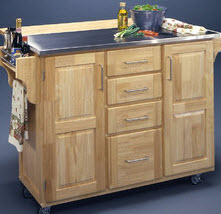 kitchen movable cabinets nook lighting ideas 60 types of small islands carts on wheels 2019 cabinet island with stainless steel top