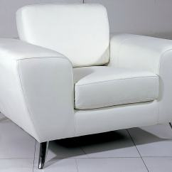 White Club Chairs Dining Room Traditional 37 Modern Accent For The Living This Top Grain Leather Chair From Beverly Hills Furniture Is Constructed Of Kiln Dried Hardwood