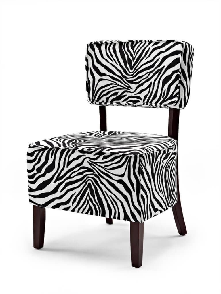 cheap accent chairs for sale retro dining table uk 10 attractive under 100 2019 this zebra print chair is a great deal priced just
