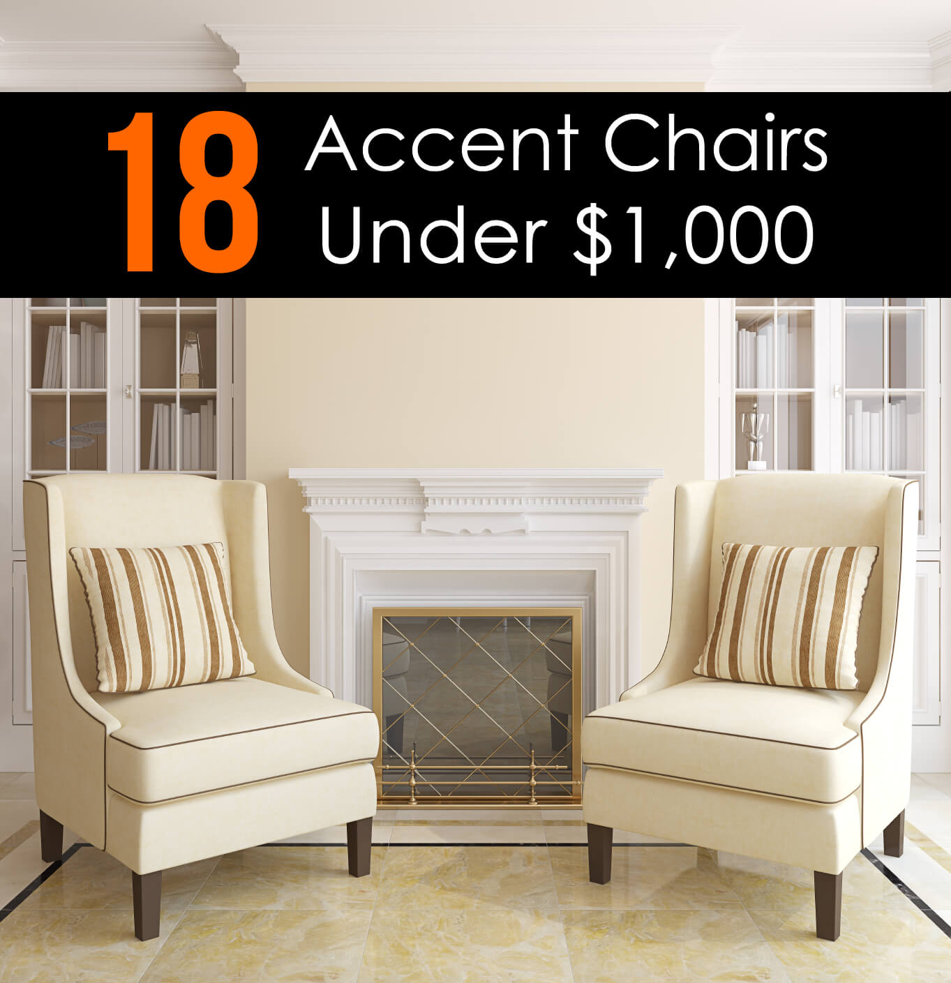 accent chairs for living room white metal chair 25 attractive under 100 2017
