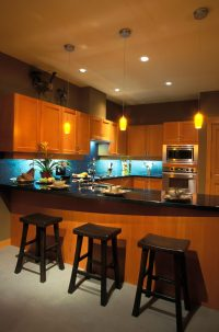52 Dark Kitchens with Dark Wood OR Black Kitchen Cabinets ...