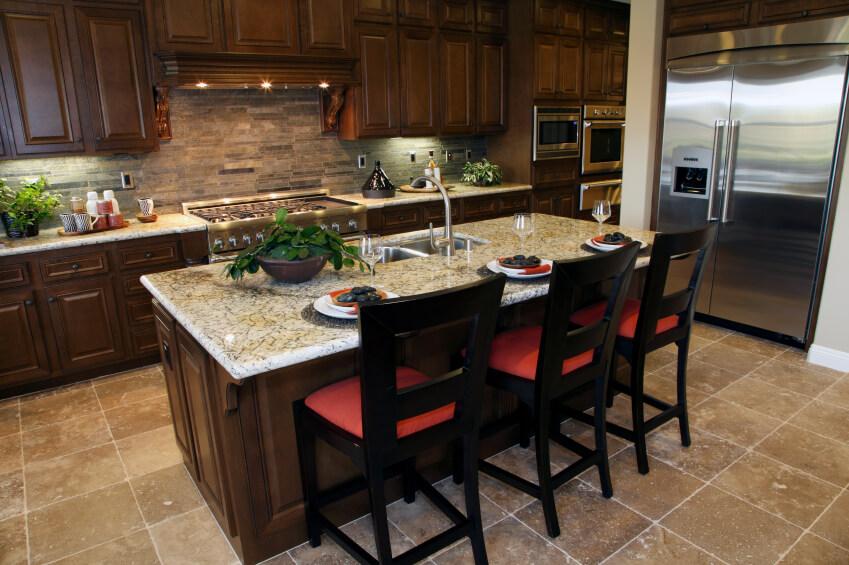 52 Dark Kitchens With Dark Wood OR Black Kitchen Cabinets 2018