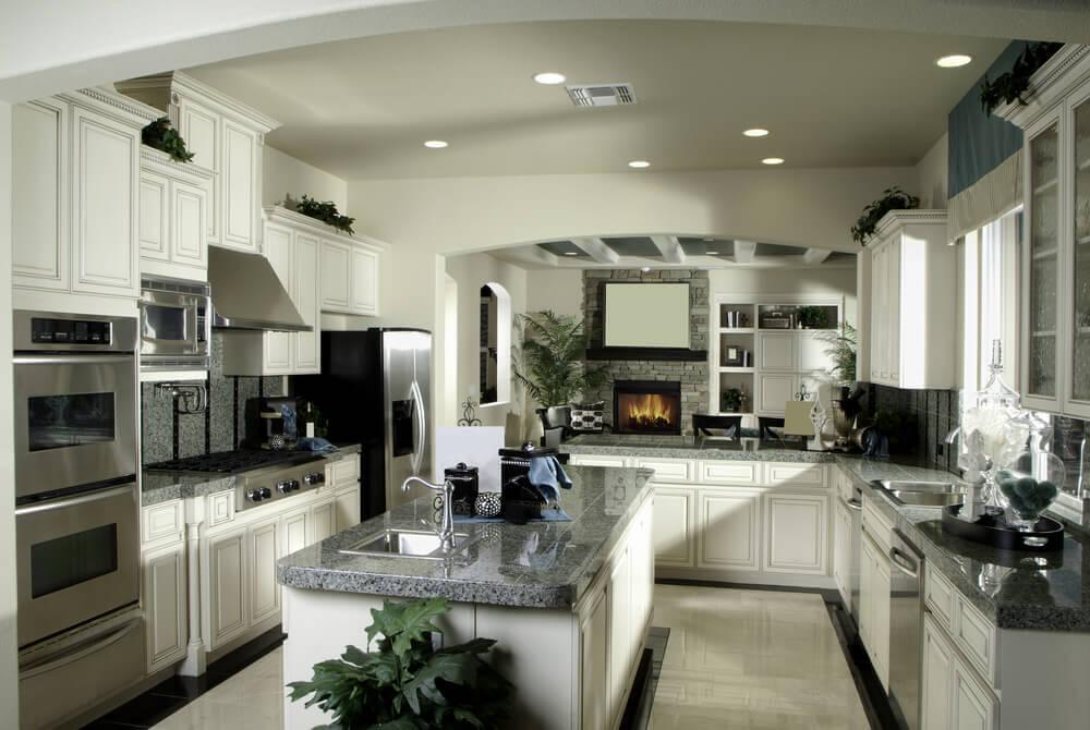 41 Luxury UShaped Kitchen Designs  Layouts Photos