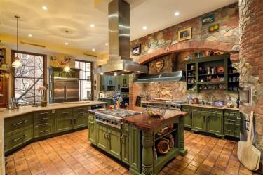 kitchen luxury country designs brick custom stone intricate kitchens rustic layout cabinetry 100k zillow luxurykitchen plus