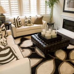 Living Rooms With Black Leather Sofas Room Decorating Ideas Brown Sofa 50 Beautiful Ottoman Coffee Tables