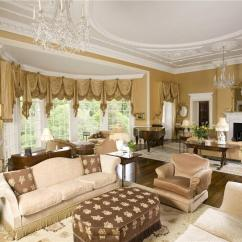 Living Room Fabrics Images Of Good Rooms 50 Beautiful With Ottoman Coffee Tables Ornate Gold And White Features Expanse Rounded Floor To Ceiling Windows Light