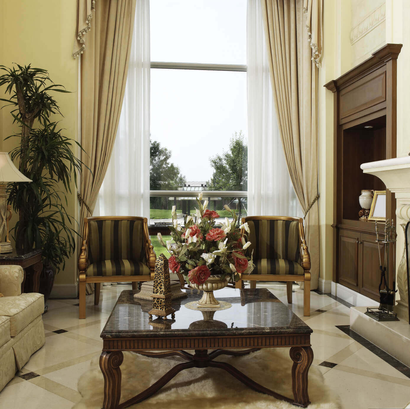 2 chairs and table set living room black side chair 36 elegant rooms that are richly furnished decorated