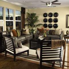 Small Living Room With Sofa And 2 Chairs Cheap End Tables 36 Elegant Rooms That Are Richly Furnished Decorated Sofas In Earth Tones