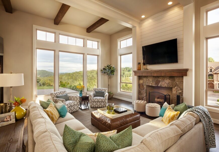 modern look living room tables for rooms 36 elegant that are richly furnished decorated 112garrisonhullinger americanspirit livingroom1 casual but