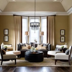 Elegant Living Room Decorating Ideas Chaise Lounge Arrangement 36 Rooms That Are Richly Furnished Decorated Earth Tones Jane Lockhart Kylemore