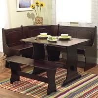 21 Space-Saving Corner Breakfast Nook Furniture Sets (BOOTHS)
