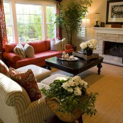 Red Couch Living Room Photos Arrangement For Small 36 Elegant Rooms That Are Richly Furnished Decorated Terrific Color Scheme Makes Up This Fabulous Design I Like The Different Colored