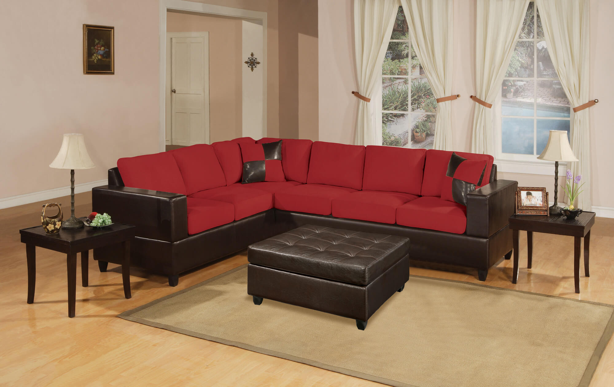 Sectional Sofa Extra Wide Chaise