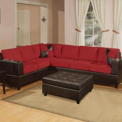 Cheap Sofa Legs Urban Home Devonshire 18 Stylish Modern Red Sectional Sofas