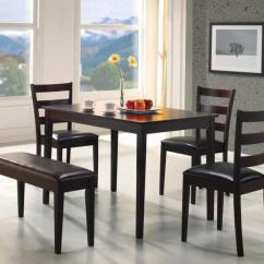 Kitchen Table With Bench And Chairs Replacement Drawer 26 Dining Room Sets Big Small Seating 2019 Perfect For An Apartment Or This Five Piece Set Is