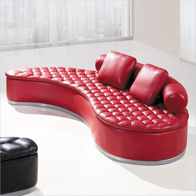 Here are 4 tips to choose the one you will love for years to come. 18 Stylish Modern Red Sectional Sofas