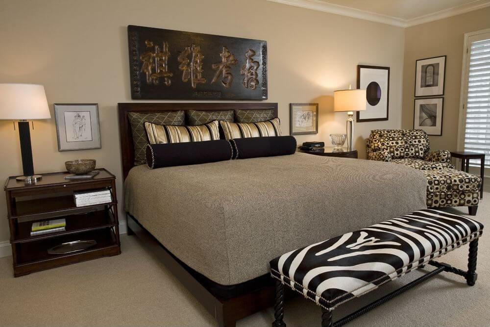 A spot to unwind while c. 12 Zebra Bedroom Décor Themes, Ideas & Designs (Pictures)