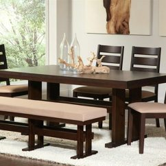 Dining Set With Bench And Chairs Dark Grey Accent Chair 26 Room Sets Big Small Seating 2019 If You Like Pink Or Soft Tones This Is For It S