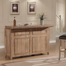 Rustic Home Bar Cabinets
