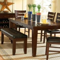 Kitchen Table With Bench And Chairs Mats Rugs 26 Dining Room Sets Big Small Seating 2019 A Stunning Dark Oak Finish Birch Veneer Set Cushioned