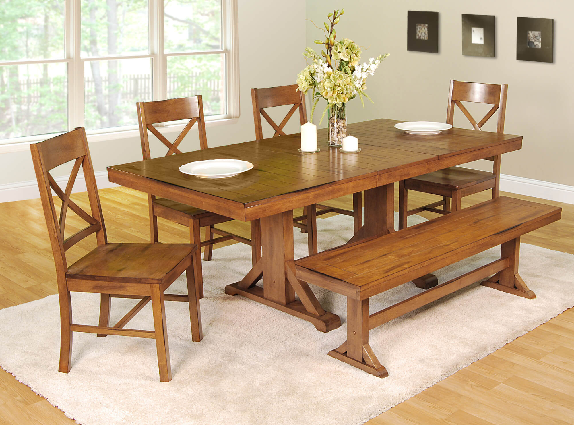 small dining chairs office chair arms 26 room sets big and with bench seating 2019 this set is going for the antique look an brown
