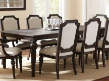 Traditional style is still the most common you'll find when shopping for dining tables. With elegantly carved wood, detailed textures, and rich proportions, this style is timeless and powerful.