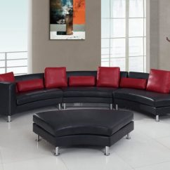 Simmons Bonded Leather Sofa Repair Services In Bangalore 25 Contemporary Curved And Round Sectional Sofas