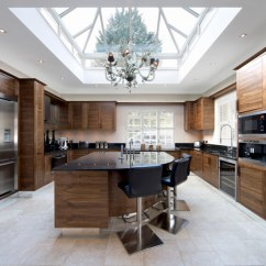 Kitchen Skylights Christmas Decorating Ideas For The 52 Beautiful Kitchens With Pictures This Is Elegant And Full Of Dramatic Wood Work A Massive Skylight Takes Up