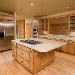 Kitchen Floor Cabinet Free Design 52 Enticing Kitchens With Light And Honey Wood Floors Pictures This Neutral Works Well To Accent The Beautiful Quality Of Natural Cabinetry