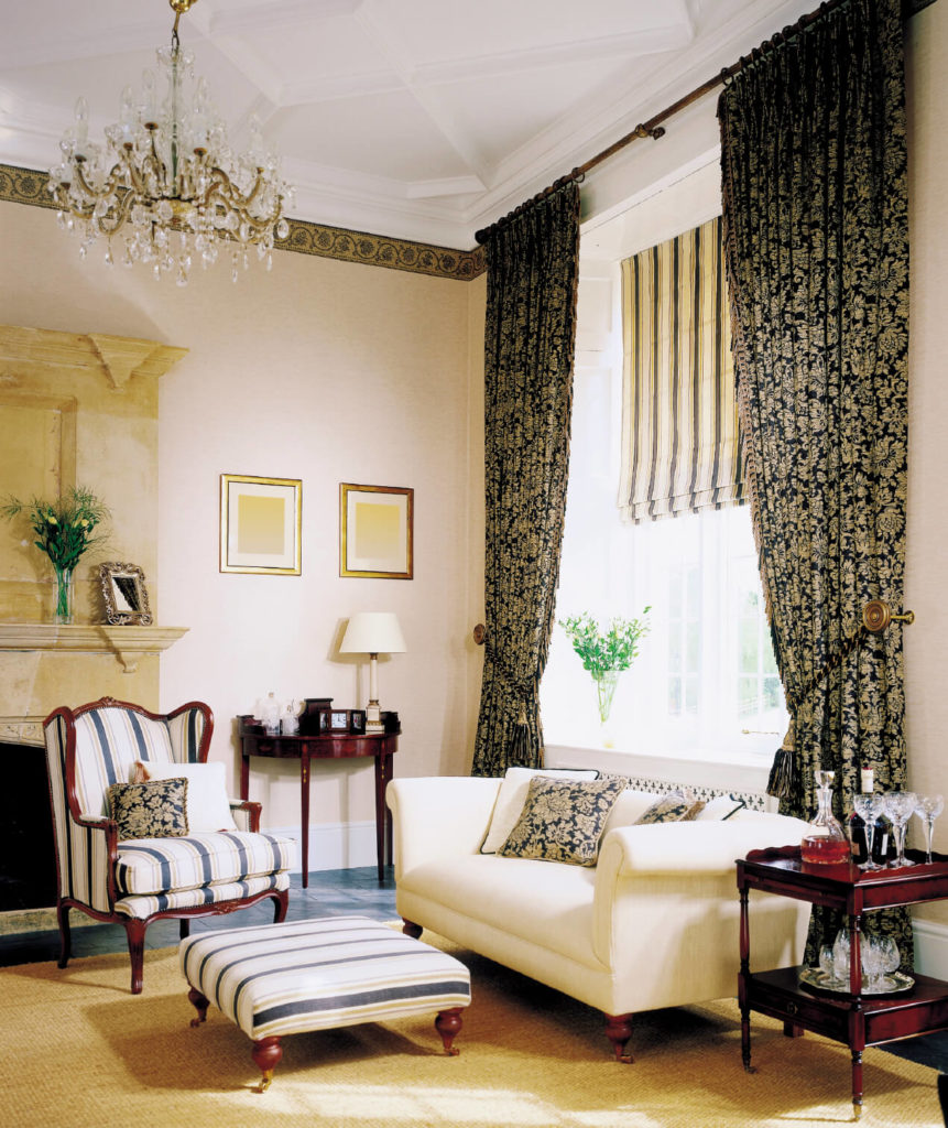 black and beige living room curtains purple furniture 53 rooms with drapes eclectic variety these beautiful are pattern heavy in they form a striking