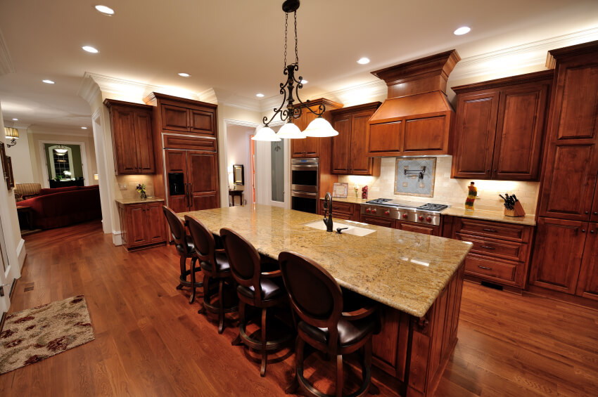 wood floors in kitchen outside countertops 34 kitchens with dark pictures this fascinating space has a lot of delicate work the cabinets and floor