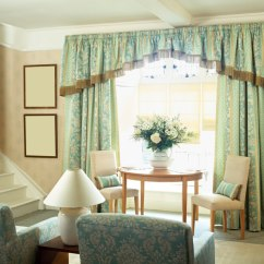 Simple Living Room Curtains Rugs For In Home Goods 53 Rooms With And Drapes Eclectic Variety Heavy Traditional A Light Blue Frame The Bay Windows Behind Small Table