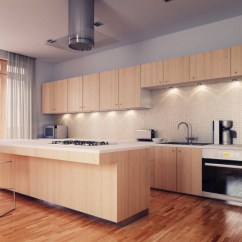 Blonde Kitchen Cabinets Commercial Flooring 52 Enticing Kitchens With Light And Honey Wood Floors Pictures This Soft Is Brought Color Interest By The Warm Reds Of Floor