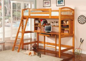 25 Awesome Bunk Beds With Desks Perfect for Kids