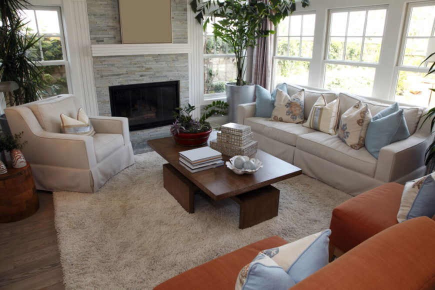 contemporary living rooms with fireplaces room carpets online 25 incredible stone fireplace ideas