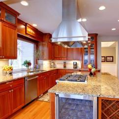 Kitchen Island With Stove Tile Backsplash Ideas For 25 Spectacular Islands A Pictures This Lengthy Traditionally Styled Is Centered On Massive Featuring Built In