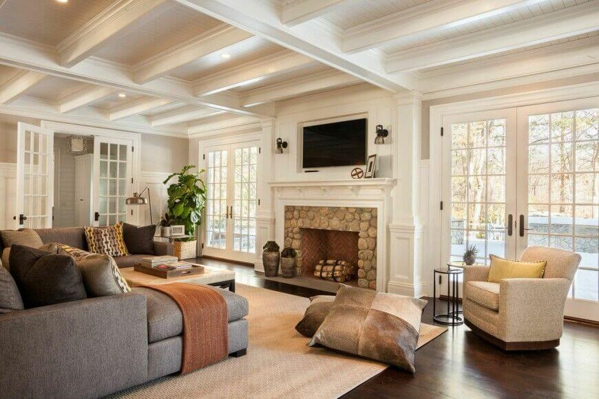 traditional living room ideas with fireplace and tv pictures of rooms grey sectionals 49 exuberant s mounted above gorgeous fireplaces tvs