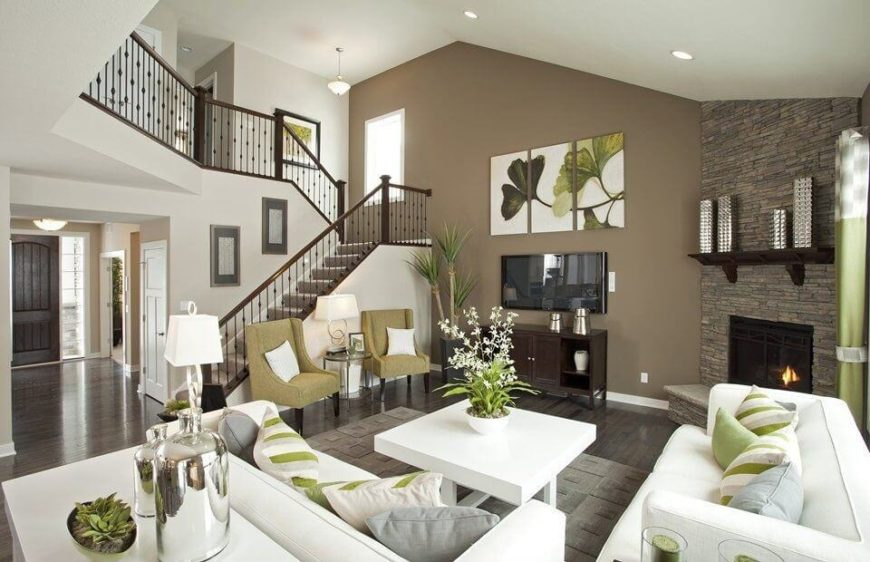 white sofa living room warm colors for paint 72 rooms with furniture sofas and chairs this gorgeous features a unified color palette courtesy of deep brown flooring