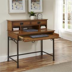 Living Room Desk Modern Country Decor Rooms 20 Craftsman Ideas For 2019 Here S A That Little More Elaborate With Large Desktop Set