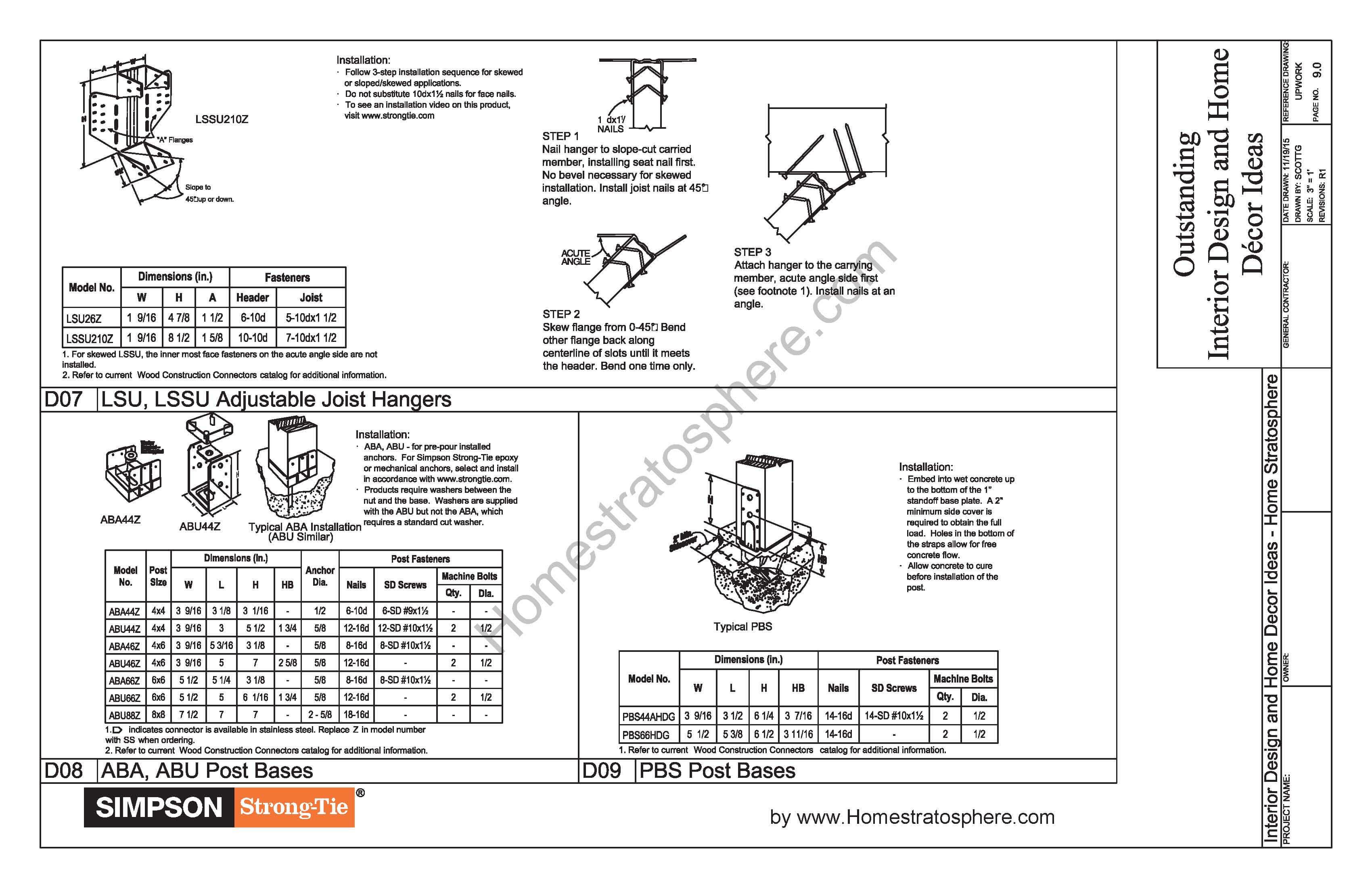 Free 12' X 16' Deck Plan Blueprint (with PDF Document