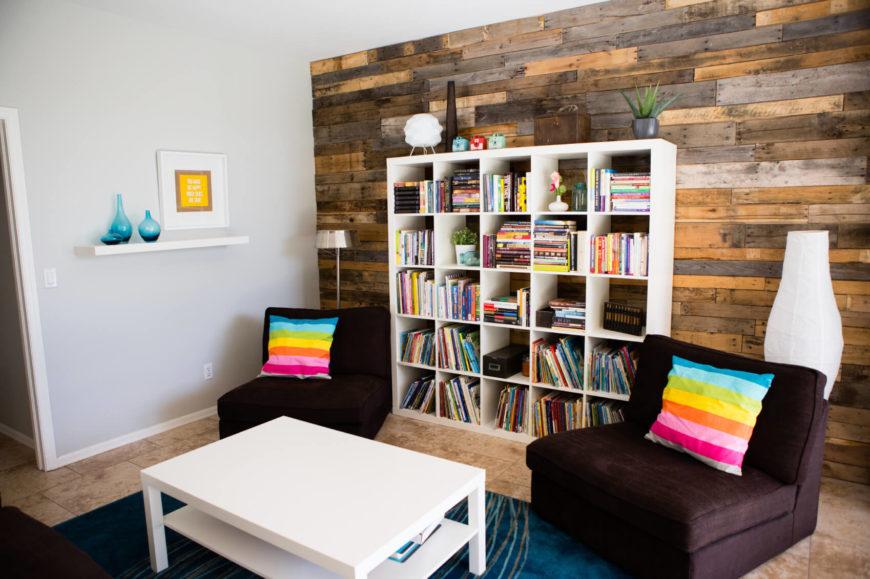 34 Attractive Living Room Storage Ideas