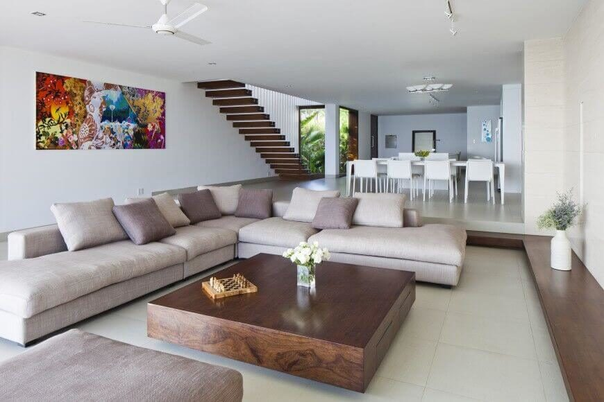 living room sofa ideas images fan light 35 lovely home stratosphere here is a very simple sectional that has low back and minimal profile