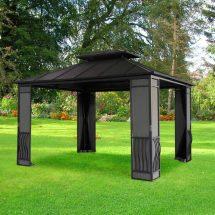 Metal Gazebo Ideas Enhance Yard And Garden With