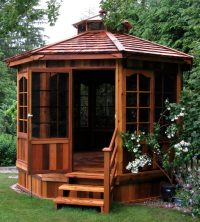 27 Gazebos With Screens For Bug Free Backyard Relaxation