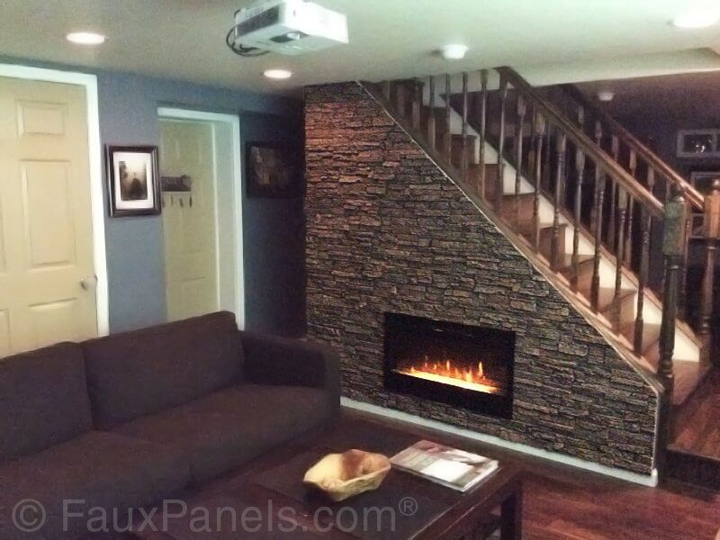30 Faux Brick And Rock Panel Ideas Pictures